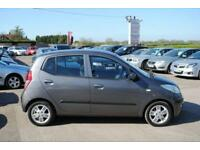 2009 (59) HYUNDAI I10 1.2 COMFORT 5 DOOR HATCHBACK PETROL MANUAL GREY 77 BHP