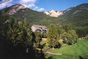 SKIERS enjoy MOUNTAIN VIEW vacation condo Radium, BC