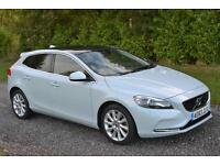 VOLVO V40 2.0 SE D3 LUX NAV 5DR 2013 63 GLASS ROOF LEATHER PARK AID XENONS