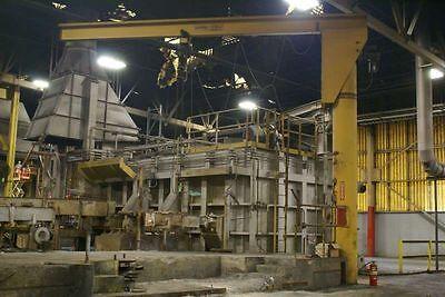 Gorbel 1 Ton Freestanding Jib Crane 21 Under Beam 26 Beam Reach