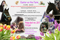 Family fun Day - Easter on the Farm - Friday April 14th, 2017