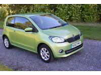 Skoda Citigo 1.0 MPI ASG Elegance AUTO 2013 SAT NAV HEATED SEATS ALLOY TAX 20
