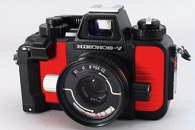 Film cameras 【MINT】Nikon NIKONOS-V GREEN 35mm
