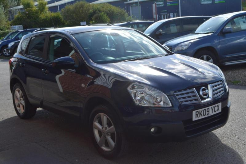 2009 nissan qashqai 1 6 acenta in honiton devon gumtree. Black Bedroom Furniture Sets. Home Design Ideas