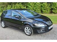 Seat Leon 1.6TDI CR Ecomotive SE Copa 5DR 2012 62 FDSH SAT NAV XENONS TAX £0