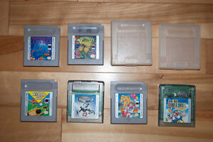 Game boy Games in working condition !