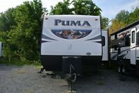 2015 Palomino Puma Travel Trailer 30 FBSS