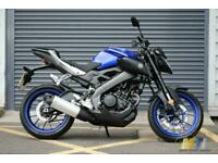 Yamaha MT 125 Motorbike in Blue Great Condition.