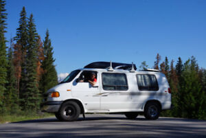 SOLD - 1999 Dodge Ram Van B1500 Camper Conversion