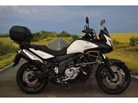 Suzuki DL650 V-Strom **Top Box, Engine Bars, Hand Guards, ABS, Centre Stand