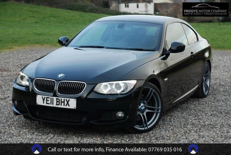 BMW 3 SERIES 325D M SPORT - COUPE 7k OPTIONAL EXTRAS, Black, Auto ...