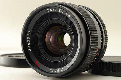 Near Mint+ Carl Zeiss Distagon 35mm f2.8 T* MMJ Contax From Japan #1285756