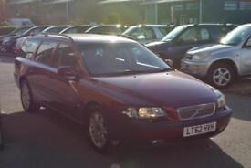 2002 VOLVO V70 2.4 170 SE AUTOMATIC 7 SEATER TOTAL SERVICE HISTORY JUST SERVICED