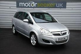 2010 Vauxhall Zafira 1.9 CDTi Elite 5dr with full history leather no deposit...