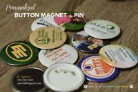 Button Magnet & Pin