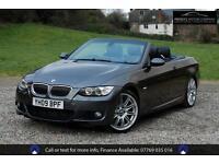 BMW 3 SERIES 335I M SPORT, CONVERTIBLE, Grey, Auto, Petrol, 2009