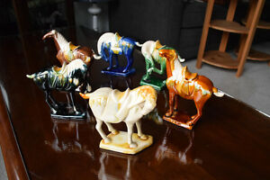VINTAGE/ANTIQUE CHINESE TANG DYNASTY SANCAI HORSE COLLECTION Kingston Kingston Area image 2