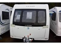Lunar Lexon 580, 2016, 5 berth, fixed bunks, end washroom, side dinette,