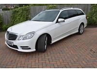 2013 Mercedes E350 CDI (264bhp) AMG Sport BlueEFFICIENCY Estate 7G-Tronic Plus