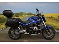 BMW R1200R MU **BMW Panniers, BMW Top Box, Heated Grips**