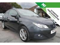 2011 Seat Ibiza 1.4 16v SportCoupe SE Chill LOW MILES