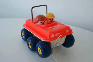 Vintage Fisher Price Bouncing Buggy #122 1974-1979