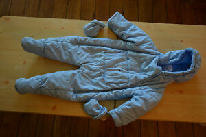 Snow suit - size 12 months (never used)