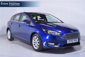 Ford Focus 1.6 125 Titanium Navigation 5dr Powershift