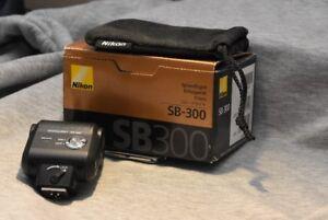 Nikon SB 300 flash.