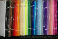 ORGANZA-LARGE ROLLS- BRAND NEW-NOW on SALE-SAVE $$$$$$