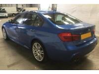 2016 BLUE BMW 335D 3.0 XDRIVE M SPORT DIESEL AUTO 4D SALOON CAR FINANCE FR 83 PW