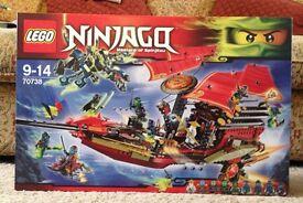 Lego Ninjago Destiny's Bounty New