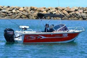 B.A BOAT HIRE PTY LTD - 4.8m Bluefin Weekender FOR HIRE!!!!