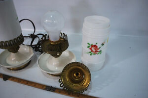 Pair of antique table lamps Gatineau Ottawa / Gatineau Area image 7