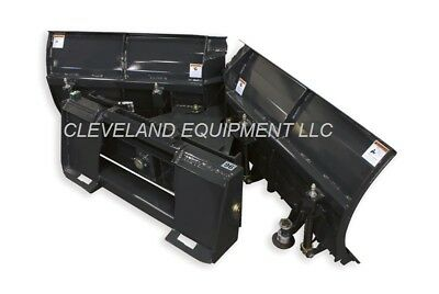 New 108 Virnig V-snow Plow Attachment Bobcat Skidsteer Loader V-plow V-blade 9