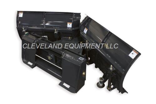 """New 108"""" Virnig V-snow Plow Attachment Bobcat Skidsteer Loader V-plow V-blade 9"""