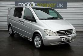 2009 Mercedes Benz Vito 120CDI Sport Auto dual liner traveliner 5 seater VER...