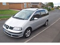 Seat Alhambra only 74000mi full service