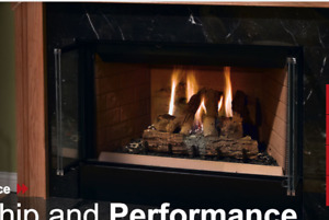 GREAT PRICE: Wood burning Fireplace   BRAND NEW