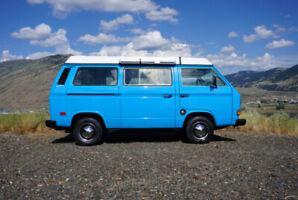 1982 Volkswagen Vanagon Westfalia LOW KMS Subaru swapped