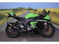 Kawasaki ZX636 **Akrapovic Exhaust, R&G Bobbins, Datatag Protection**