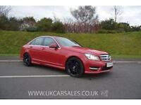2012 Mercedes-Benz C Class 2.1 C220 CDI BlueEFFICIENCY AMG Sport Plus