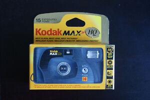Kodak Max HQ 35mm Single Use Camera 2 available