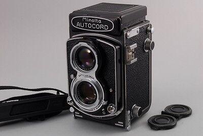 Пленочные фотокамеры 【EXC++++】 Minolta Autocord TLR