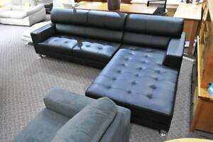 Hunter Full Leather Modular Sofa Lounge Suite was $3599 now $2599 Rockdale Rockdale Area Preview