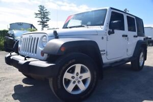 Jeep Wrangler Unlimited Sport*4X4***2 TOITS** 2013