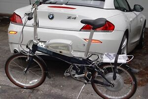 Bicyclette électrique pliable