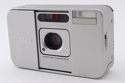 【AB Exc+】 Fujifilm TIARA II 35mm Film Camera w/SUPER-EBC FUJINON 28mm Lens #3095