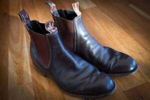 BROWN RM Williams size 7.5G *free postage aus wide* Annerley Brisbane South West Preview