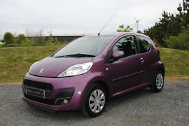 2012 Peugeot 107 1.0 12v Active PURPLE